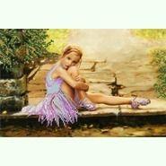 Юная балерина S-031