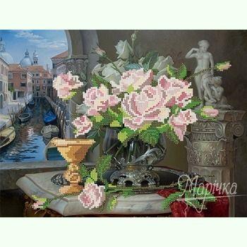 Натюрморт с розами РКП-082