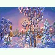 Зимний вечер SА-012