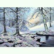 Зимний лес SА-020