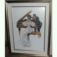 У рояля
