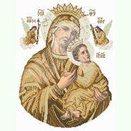Богородица Неустанной Помощи (сепия) БНП-с