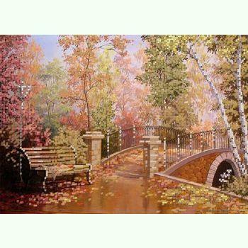 Осенний мостик S-160
