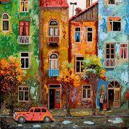 Цветной городишко AC-242