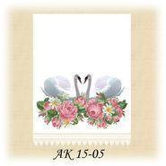 Заготовка к свадебному рушнику АК 15-05 Д