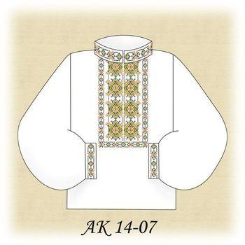 Заготовка чоловічої вишиванки АК 14-07 Д