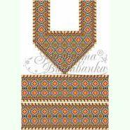Домоткана біла жіноча вишиванка БЖд-029Б