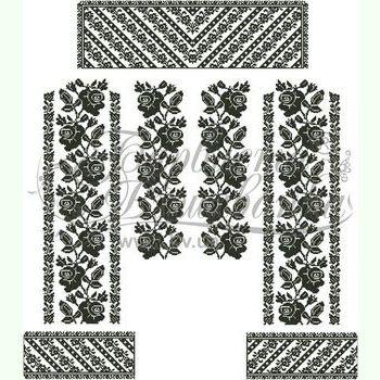 Домоткана біла жіноча вишиванка БЖд-081Б