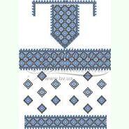 Домоткана біла жіноча сукня ПЛд-031Б
