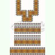 Домоткана біла жіноча сукня ПЛд-063Б