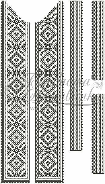 Схемы мужских вышиванок фото